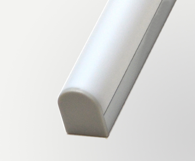 Aluminium Extrusion for LED strip Recessed on Ceiling/drywall