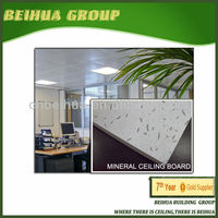 Ceiling Mineral Fiber Board in 12 mm ,15 mm size 600 x 600