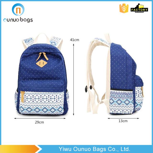 b21bb4df9b02 SUNBORLS Brand Korean Canvas Printing Backpack Women School Bags for Teenage  Girls Cute Rucksack Vintage Laptop