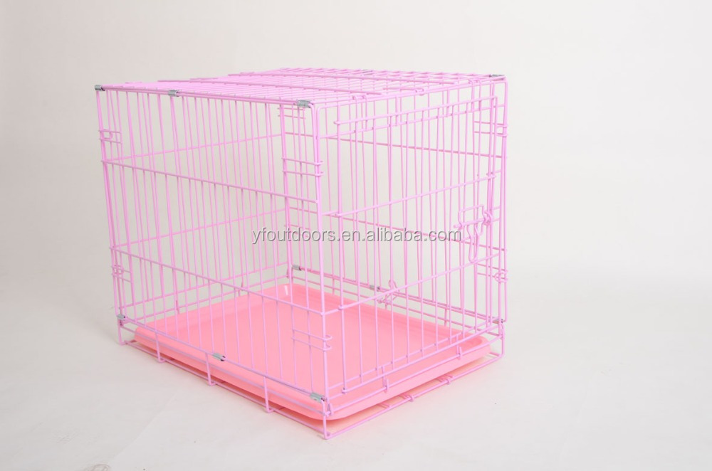 Hot sale high quality wire folding dog cage