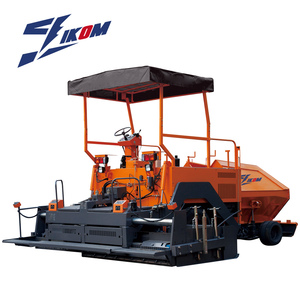 highly used asphalt paver paving finisher process machine