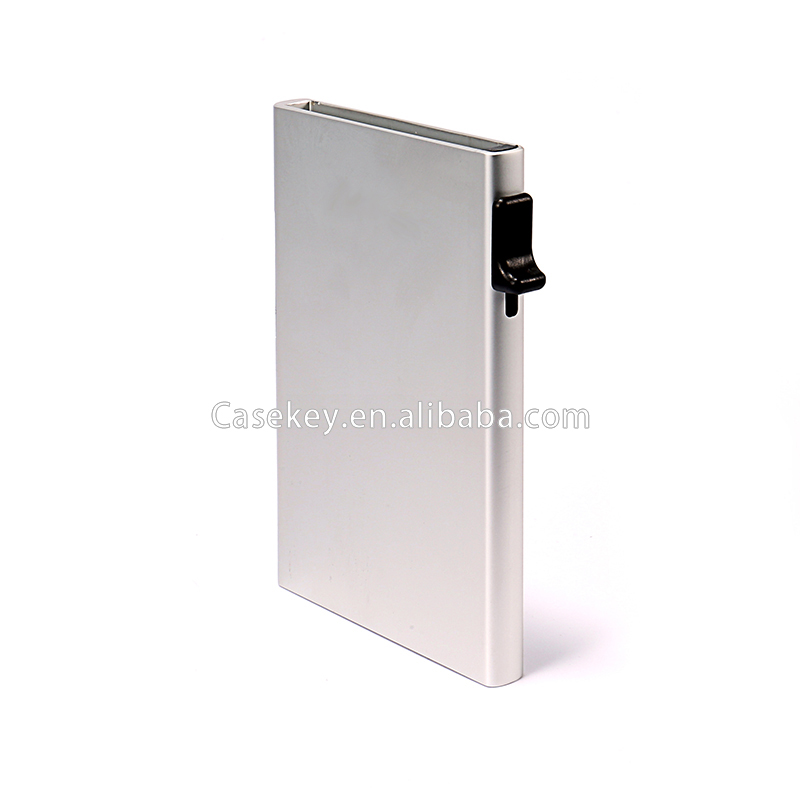 Good design factory price RFID card holder with money clip