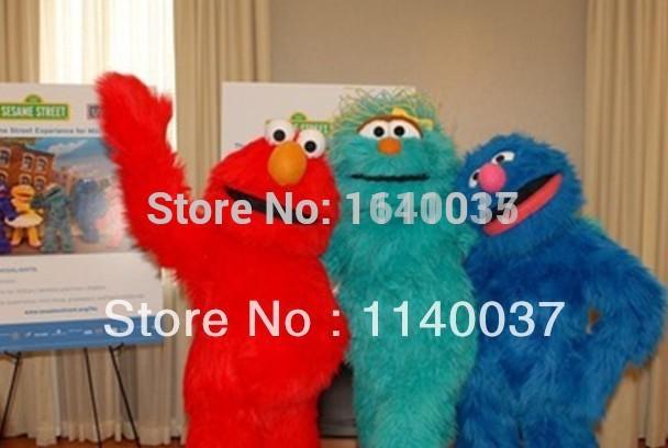 HOT 2015 New1 piece Deluxe Sesame Street Elmo /ROSITA ...