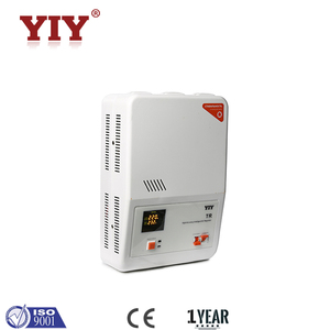 TR Single Phase Relay Type Automatic Voltage Stabilizer 5000VA High Precision Intelligent AC Regulator with LED display