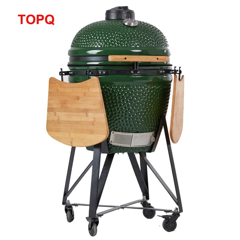 Cucinare all'aperto 21 kamado griglia a carbone bbq commerciale