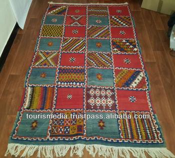 vintage handwoven taznakht rug 207cm x 120cm moroccan berber tazenakht carpet