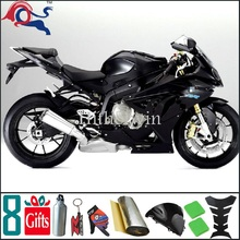 S1000 RR 2009 2010 2011 2012 all black Bodywork Plastic Kit Set Fit ForS1000RR 2009 2012
