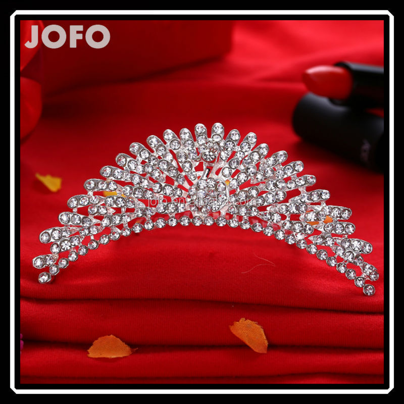 2015 Brilliant Charming New Design Moroccan Princess Wedding Hair Accessories Wedding <strong>Crown</strong> For Bridal