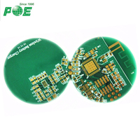 Shenzhen aluminum led round smd pcb board/pcb board assembly for led