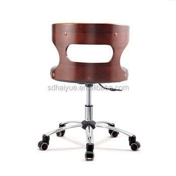 Promotional PU Leather Cushion Restaurant Chair/Revolving Dining Chair/Modern  Design Restaurant Chair