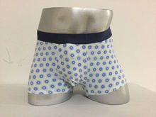OEM ODM Men style fabric silk screen printed viscose spandex boxer briefs