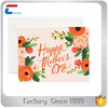 Factory Price Paper Thanksgiving Greeting Cards for Mother's Day/Father's Day