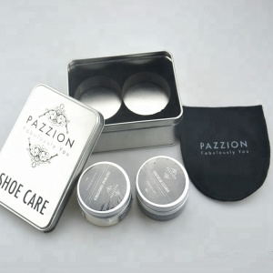 High quality shoe care kit for smooth leather/ luxury shoe care set/ shoe shine kit for promotional gift