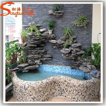 Guangzhou plastic craft indoor waterfall fountains wholesale fountains and  waterfalls