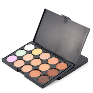 Cheap price makeup concealer with 15 color concealer palette