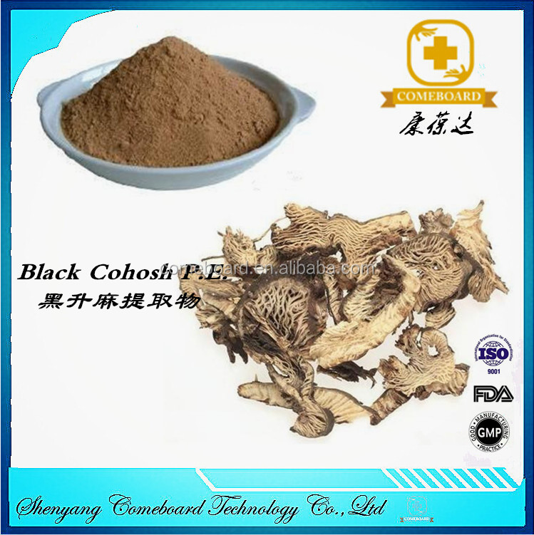 black cohosh extract with 2.5% Triterpenoid glycosides