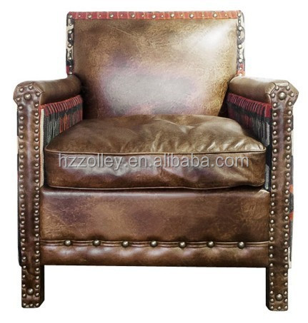 luxury italian executive half leather office sofa chair chaise lounge for living room