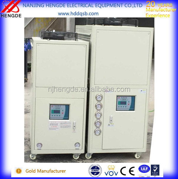 Metal surface treatment industrial chiller