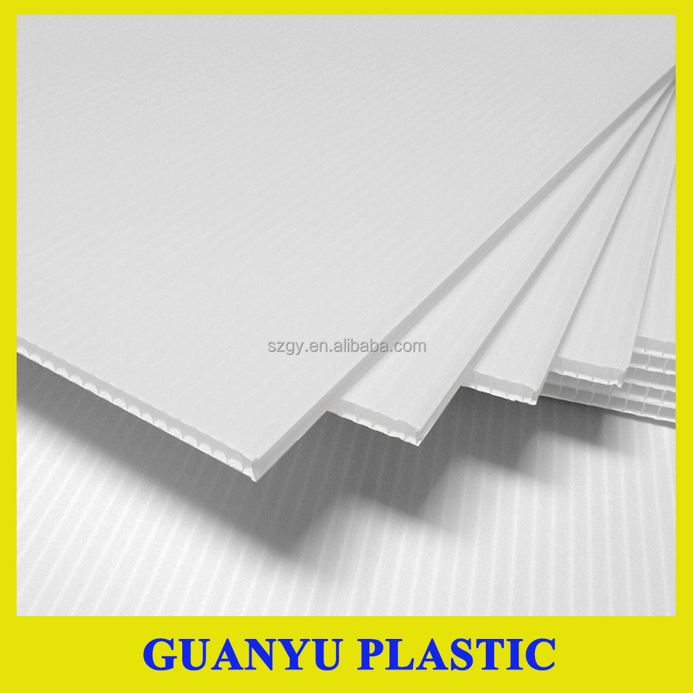 China Factory Directly sale PP Corrugated Corflute Plastic Sheet for Wholesale