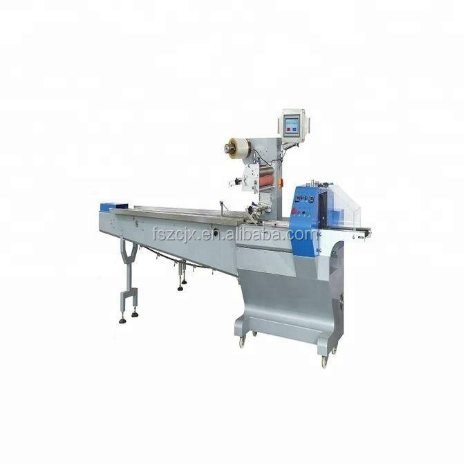 Automatic bread packaging machine for bread