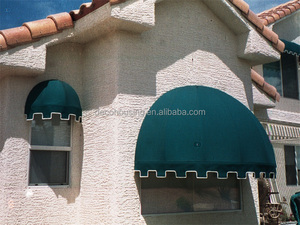 fashionable simple dome awning/half round awning/small window awning