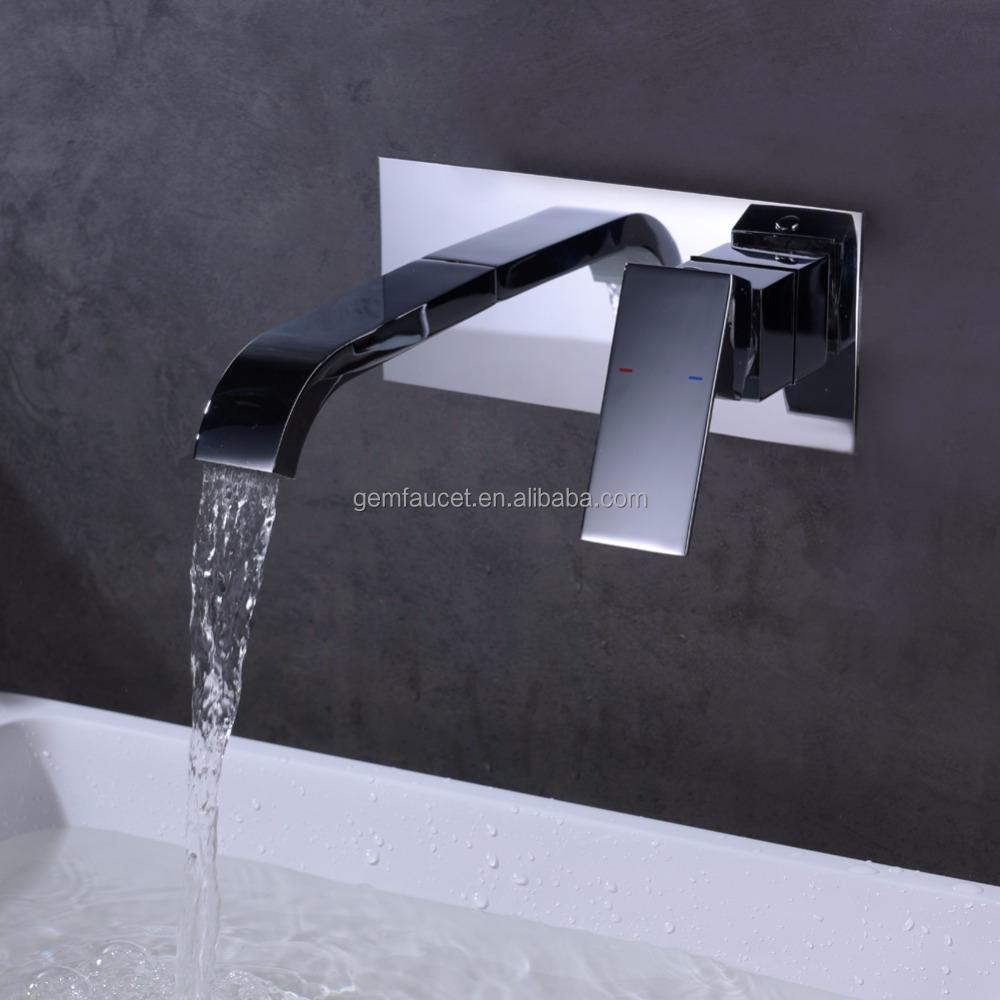 Single lever in wall brass tap with Résultat Supérieur 14 Frais Robinet Mural Cascade Pic 2018 Kjs7