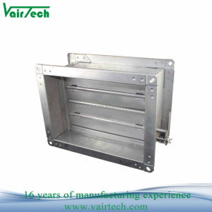 Manual air duct damper galvanized volume control damper