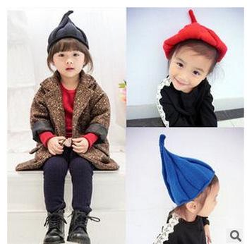 B22522a Niños Sombrero De Lana Corea Del Estilo Aguja Casquillo ...