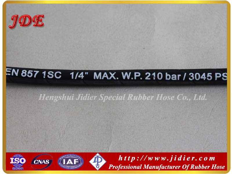 Quality Warranty High Pressure Coal Mine Hydraulic Rubber Hose