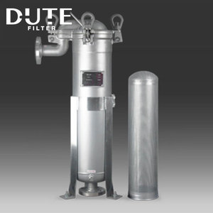 Industrial water filter SS Bag Filter Housing with Mirror Polishing design
