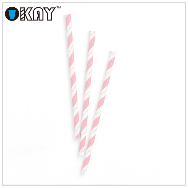Party Customized Printed Commercial Paper Drinking Straws