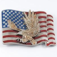 AMERICA EAGLE Custom Metal Belt Buckle