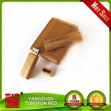 Customized Gift Wood USB Flash Drive with laser engraving logo