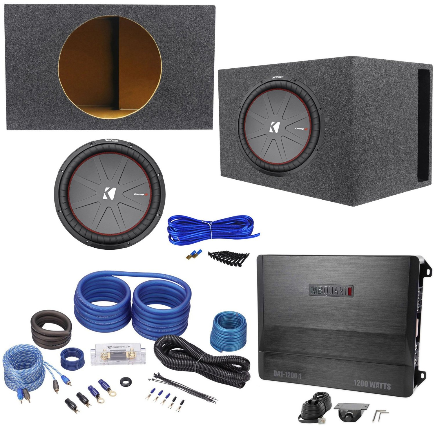 Cheap Wire 2 Ohm Subwoofer Find Deals On Line Wiring Diagram Dual Voice Coil Speaker A Screws Spade Terminals 34999 Null Get Quotations Package Kicker 43cwr152 15 Car Audio Totaling