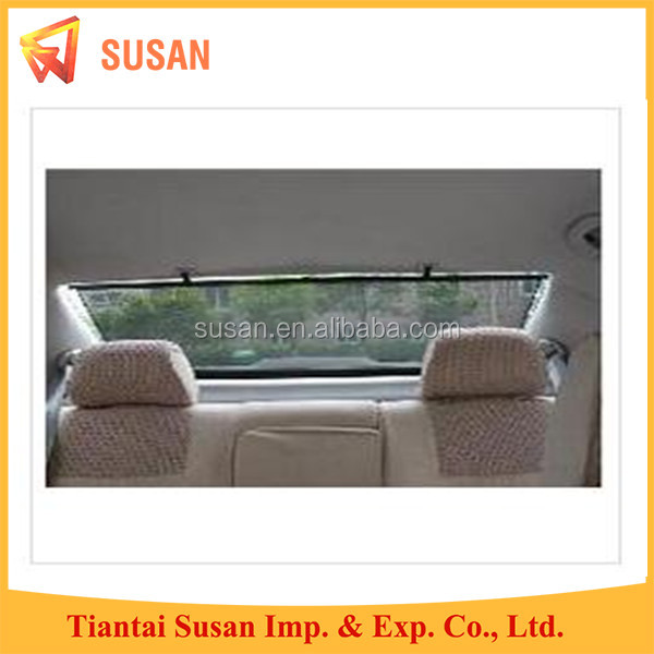 nylon car rear window roller shade back sunshade