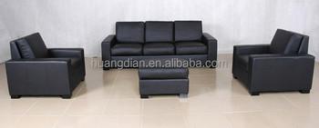 Customized Black Leather King Size Sofa Bed From Shunde Ss4040 Buy Black Leather King Size