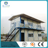 Quick installation assembly modular double story 2 bed room residential prefab house K type with galvanized steel structure