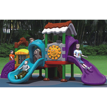 Kids Outdoor Playground Includes Swings and Slide