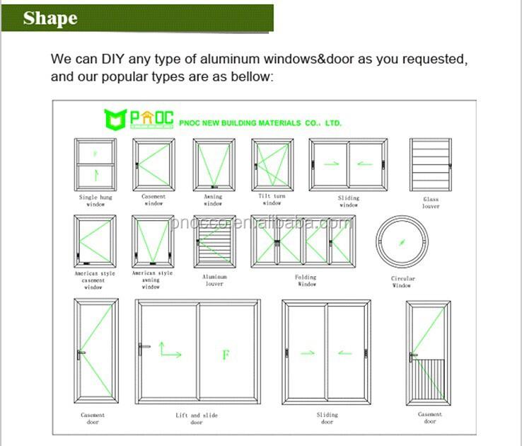 Folding Window China Aluminum Window Aluminum Folding Windows And Bi
