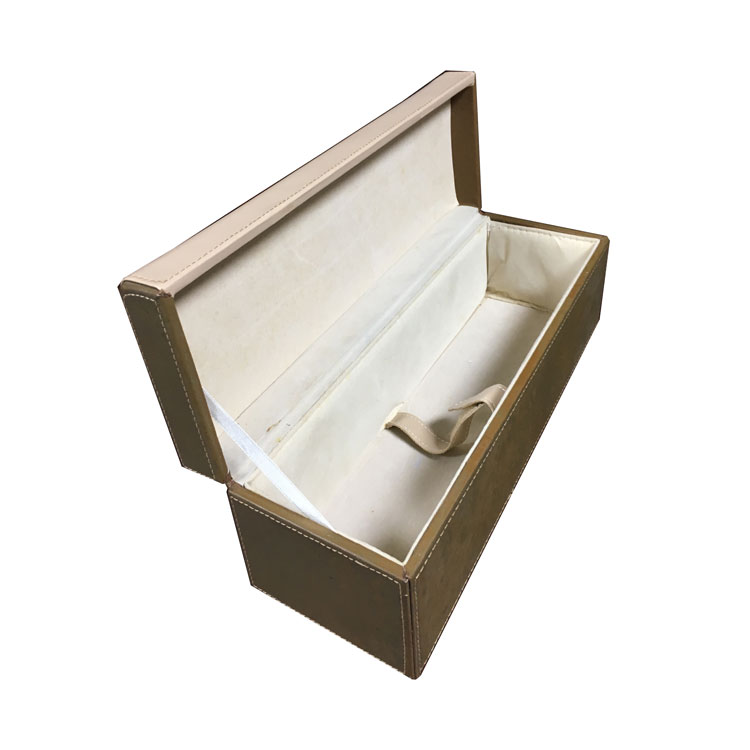Custom Packaging Luxury Gift Leather Wine Box