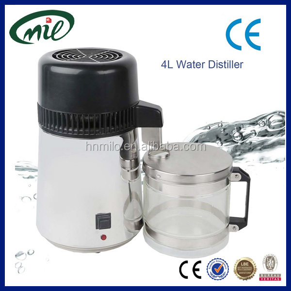 New arrival water double distiller/home water distilling equipment