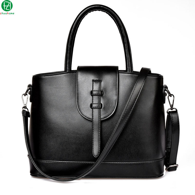 40786570b73b Get Quotations · brand leather woman handbag vintage business totes women  messenger Laptop bag casual outdoor women shoulder bag