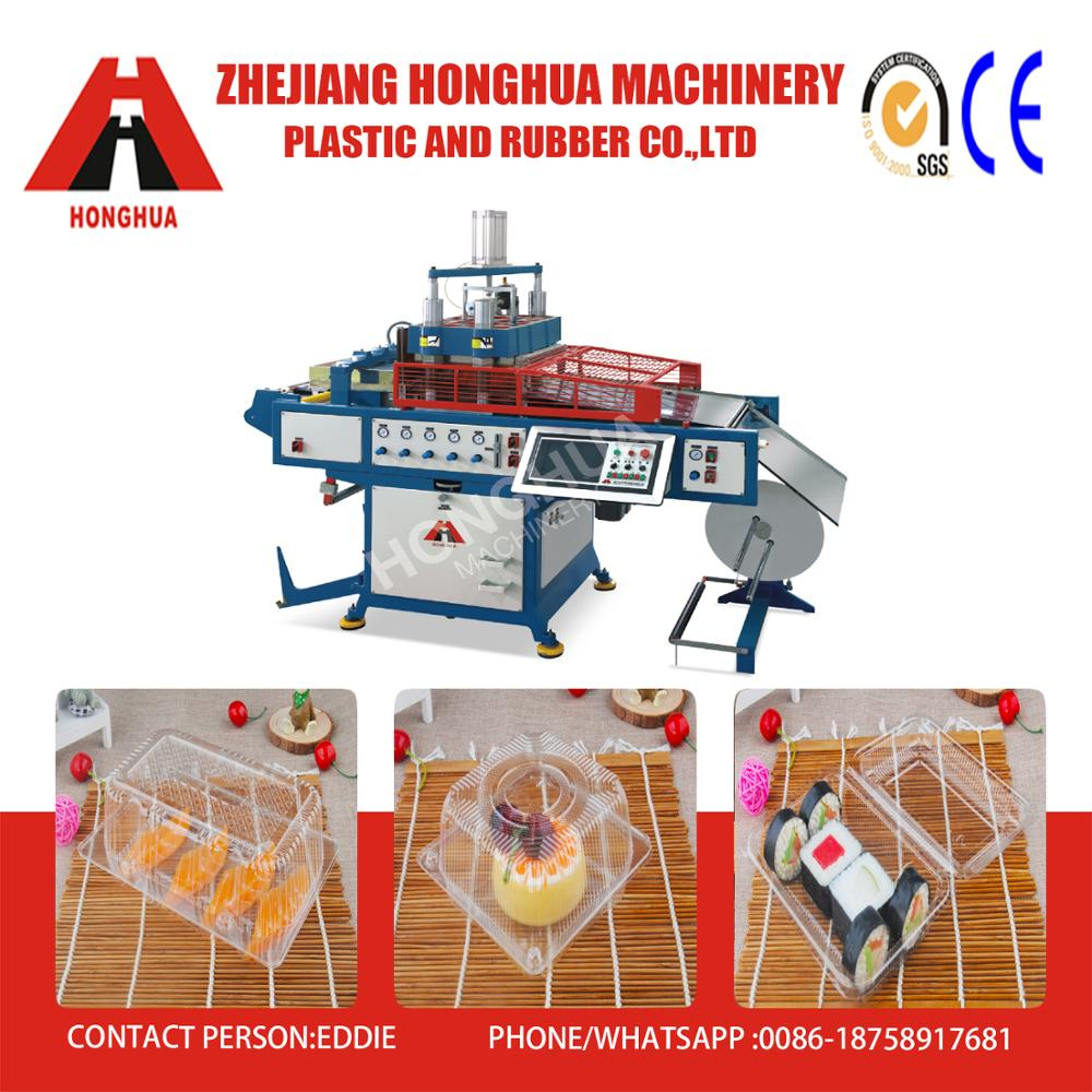 HSC-510570 Plastic Thermoforming Machine PP PS PET PE material