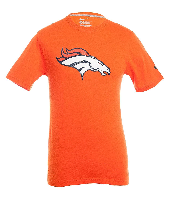 check out b20ec 805fb Get Quotations · Nike Denver Broncos NFL Tee Shirt - Orange