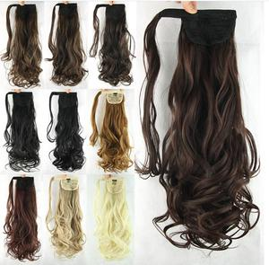 high temperature synthetic fiber wigs hair accessories ponytail