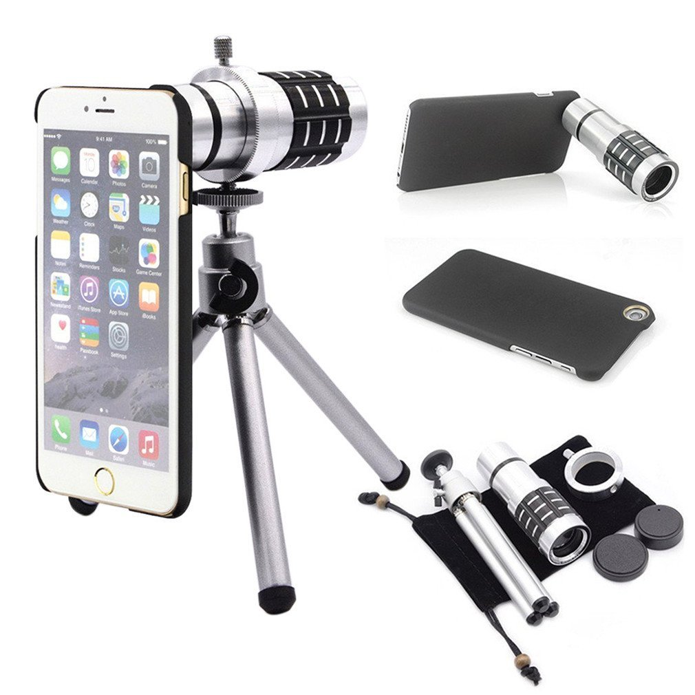 Cheap Mobile Phone Telescope Iphone Find Lens 8x Optical Zoom With Universal Clamp Black Get Quotations Phifo 12x Smartphone Telephoto Samsung Camera Kit Aluminum