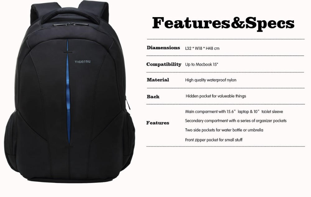 f54742cc6d78 ... Bags for Teenagers Boys Girls Black Blue Orange School Backpacks High  Quality Dropproof Nylon Free Shipping. Features. T-B3105 (1) ...