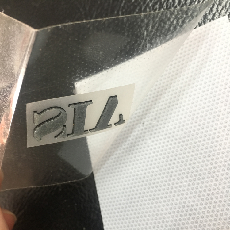 Custom Printing Main Fabric Silicone Heat Transfer Label for Garment
