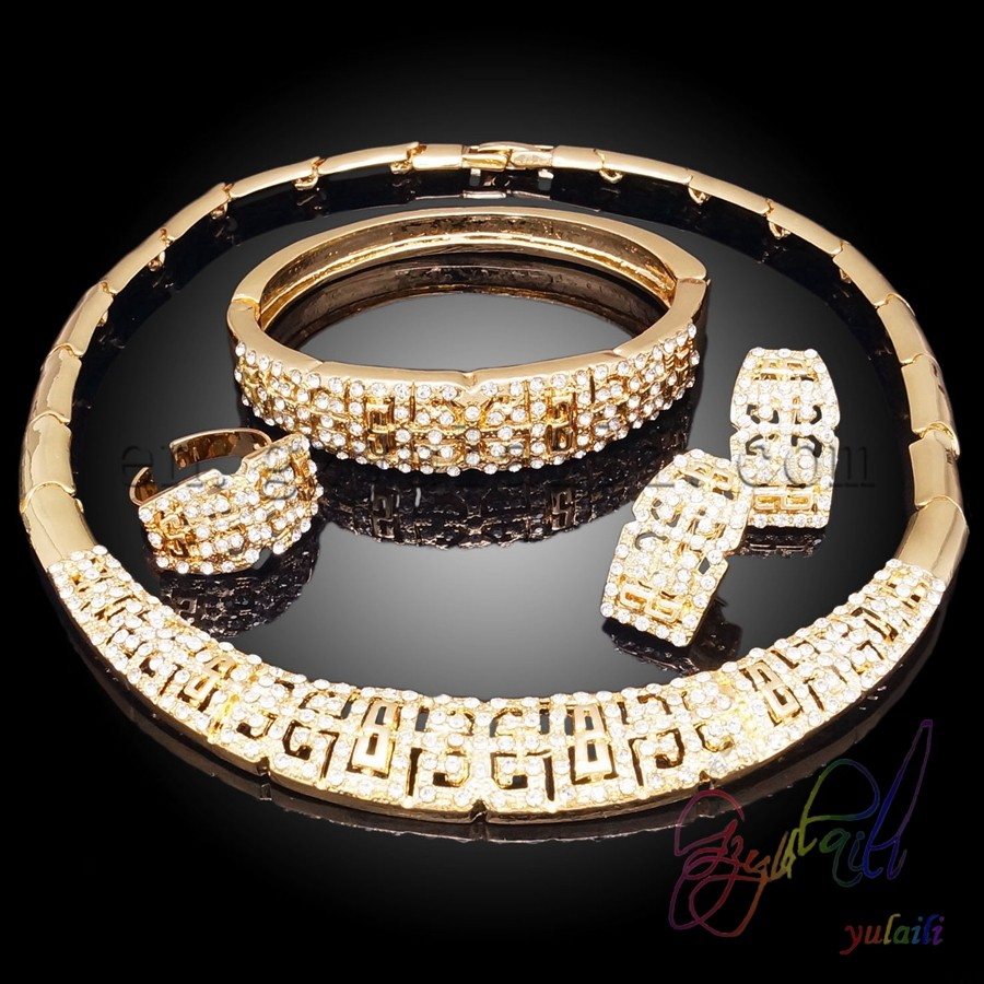 Wholesale China Bridal <strong>Set</strong> Jewelry Chunky Necklace <strong>Set</strong> Costume Jewelry Wedding Bridal Jewelry <strong>Sets</strong>