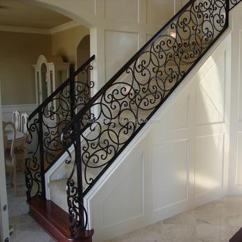 Pasamanos de escaleras exteriores barandas metlicas pasamano de acero y resina escaleras - Barandas de hierro modernas ...
